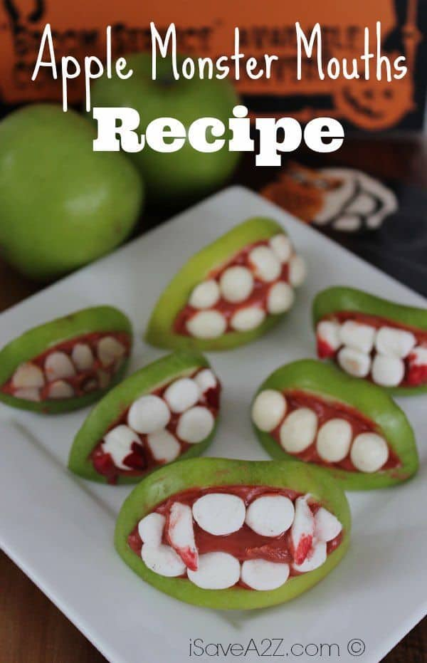 Halloween Apple Monster Mouths - iSaveA2Z.com