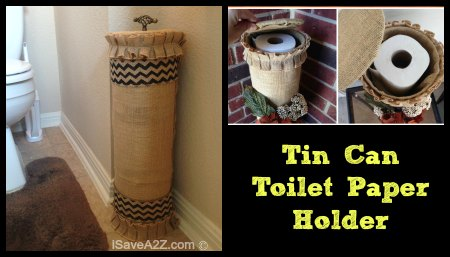 FB Tin Can Toilet Paper Holder Project Idea