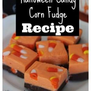 Halloween Candy Corn Fudge