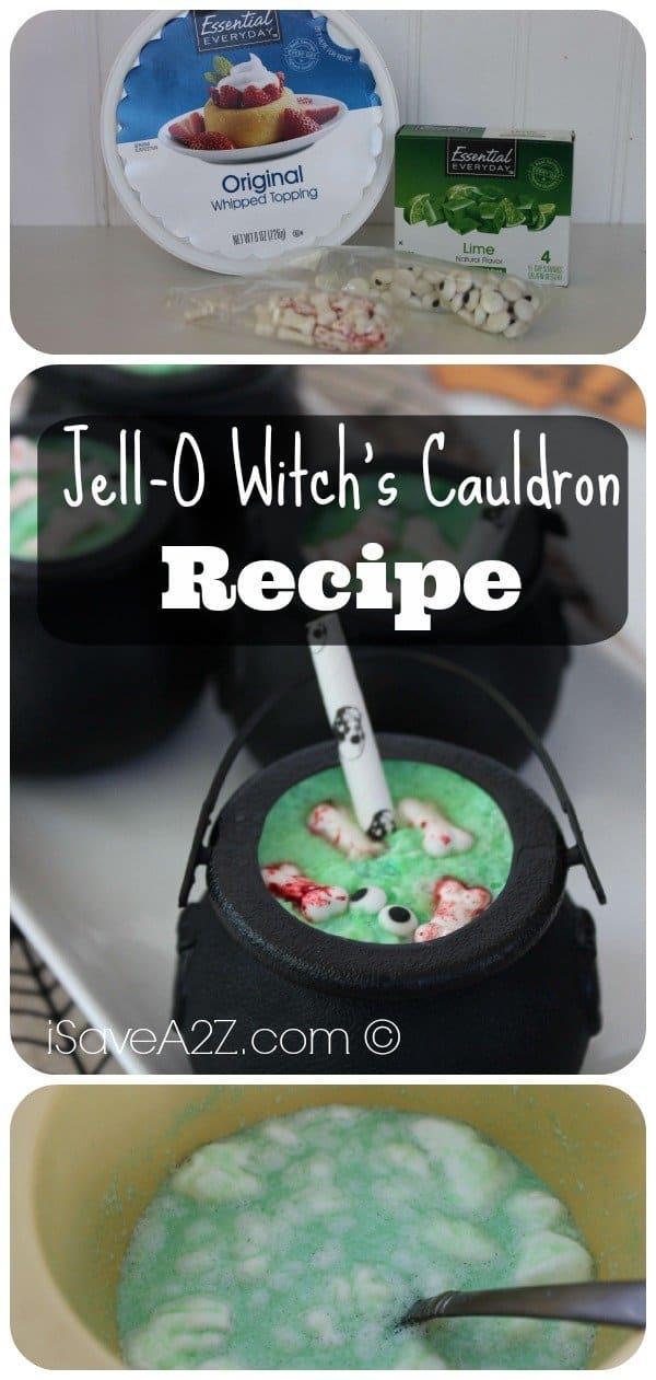 Jell-O Witch's Cauldron