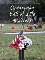 Organizing End of Life Matters – What the Family Should Do