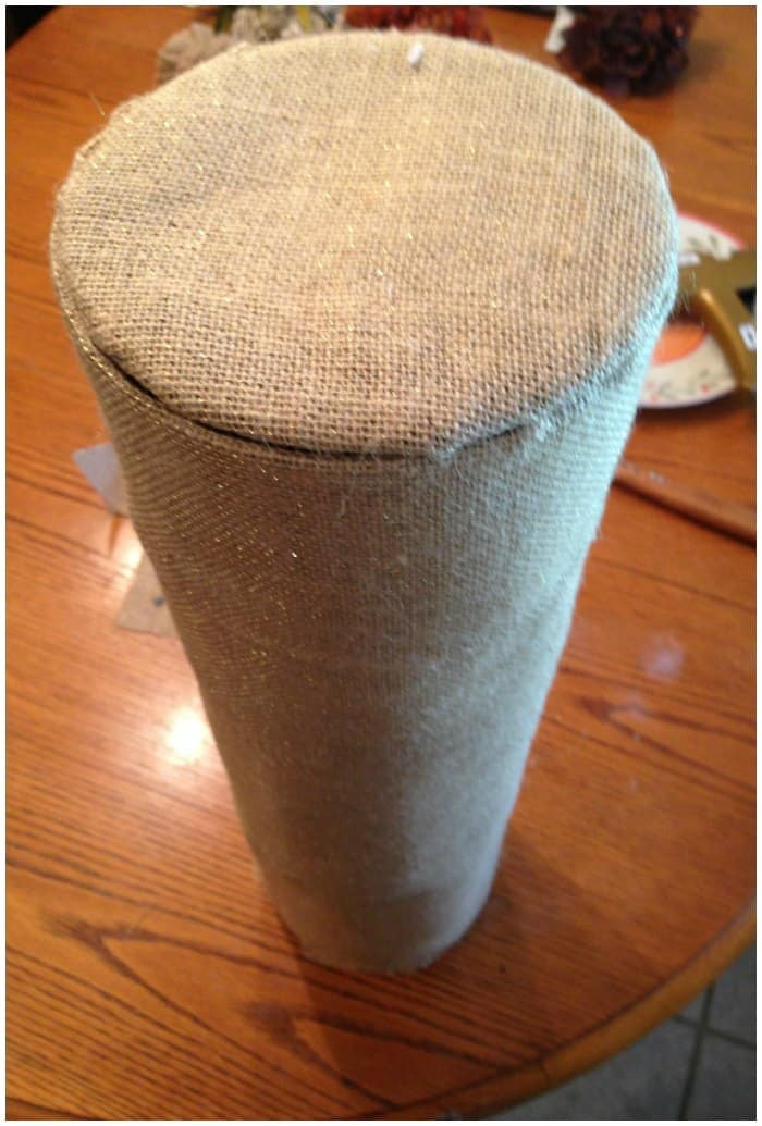 Tin Can Toilet Paper Holder
