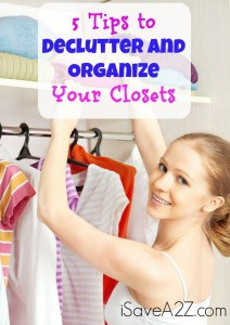 5 Tips to Declutter and Organize Your Closets
