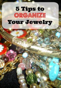 5 Tips to Organize Your Jewelry