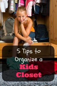 5 Tips to Organize a Kids Closet