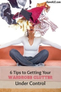 6 Tips to Getting Your Wardrobe Clutter Under Control