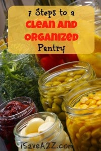 7 Steps to a Clean and Organized Pantry
