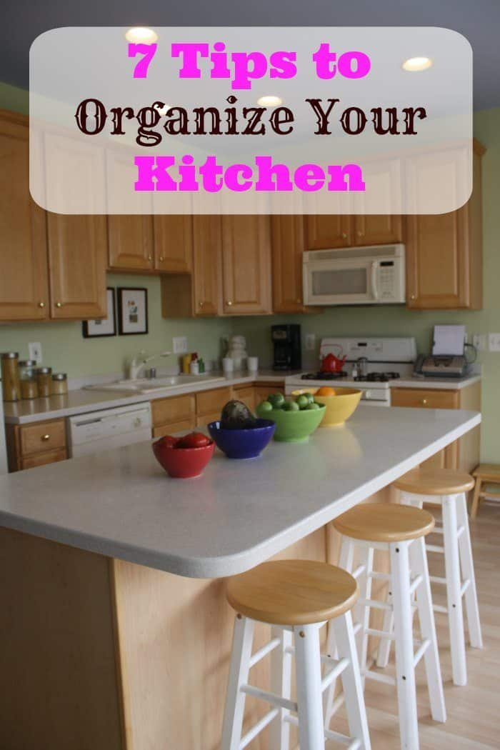 7 Tips to Organize Your Kitchen
