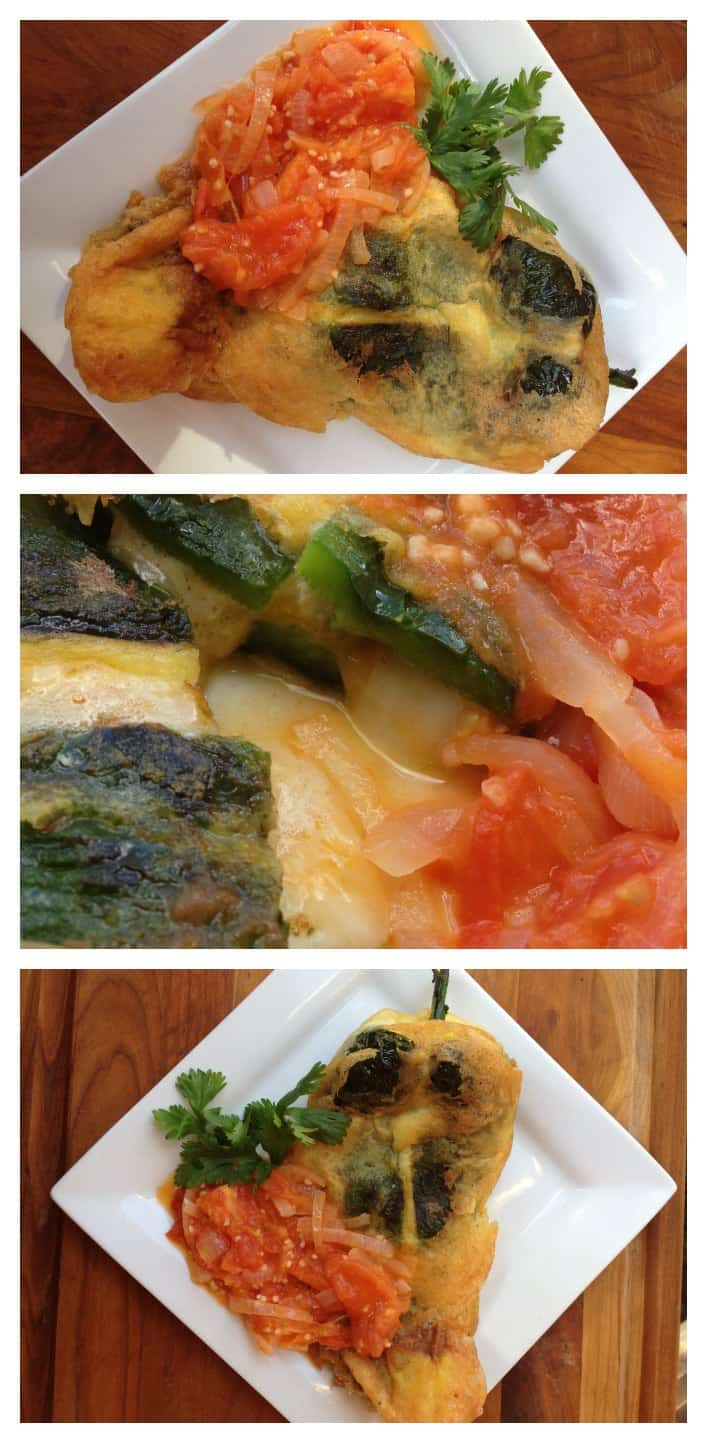 Authentic Chiles Rellenos Recipe collage