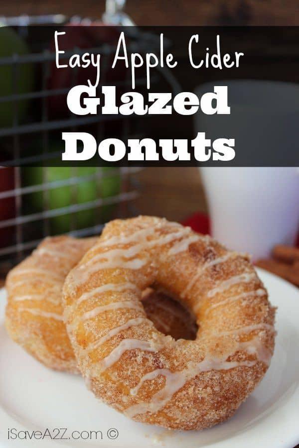 Easy Apple Cider Glazed Donuts Isavea2z Com
