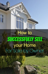 How to Successfully sell your home For Sale By Owner