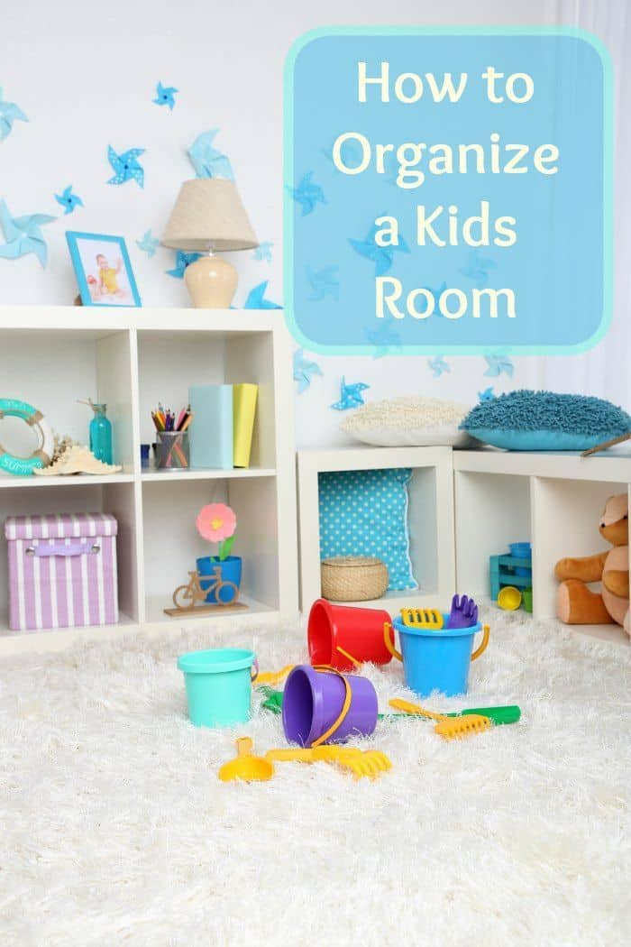 Organize a Kids Room