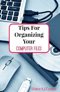 Tips For Organizing Your Computer Files