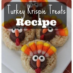 Turkey Krispie Treats