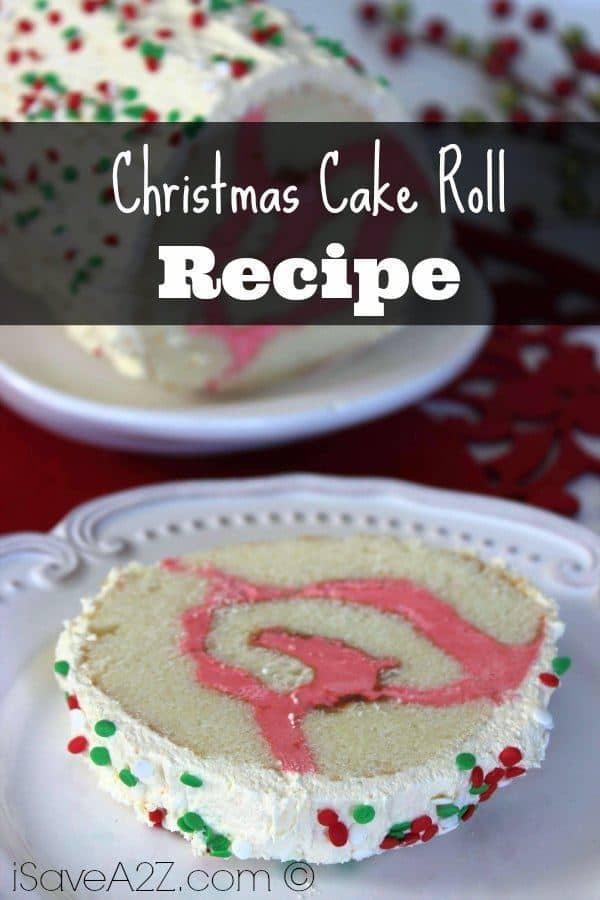 Christmas Cake Roll Isavea2z Com