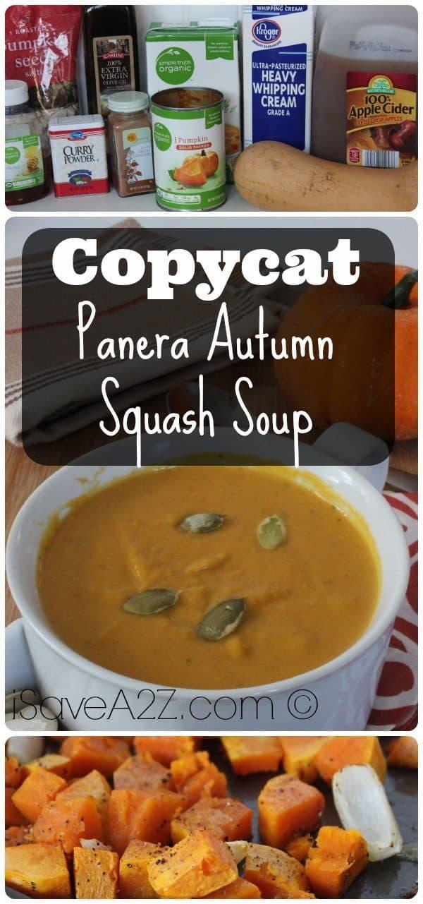 Copycat Panera Autumn Squash Soup