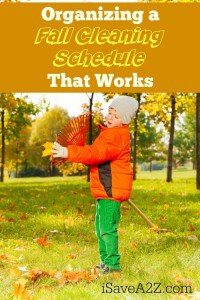 Organizing a Fall Cleaning Schedule That Works