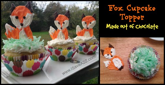 Chocolate Fox Cupcake Toppers Isavea2z Com