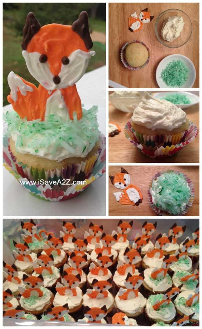 Fox Cupcake Idea