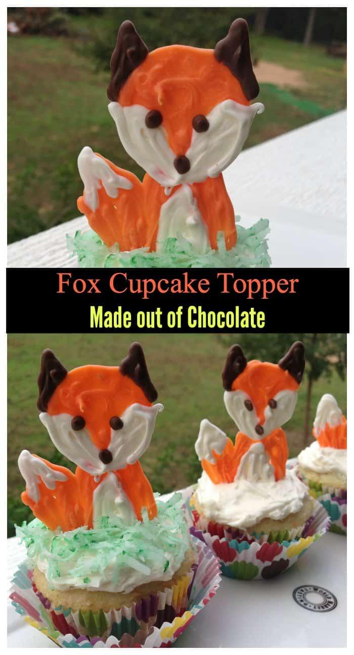 Fox Cupcake Topper