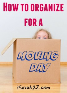 How to Organize for a Moving Day