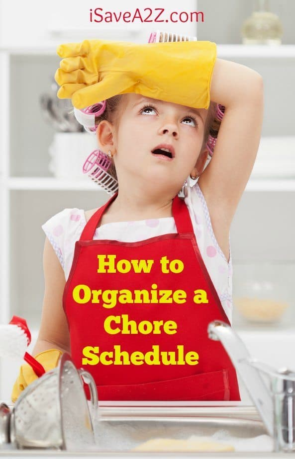 How to Organize a Chore Schedule
