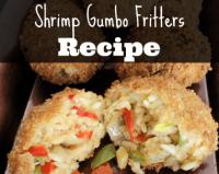 Shrimp Gumbo Fritters