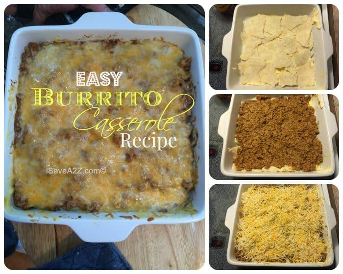 Easy Burrito Casserole Recipe Isavea2z Com