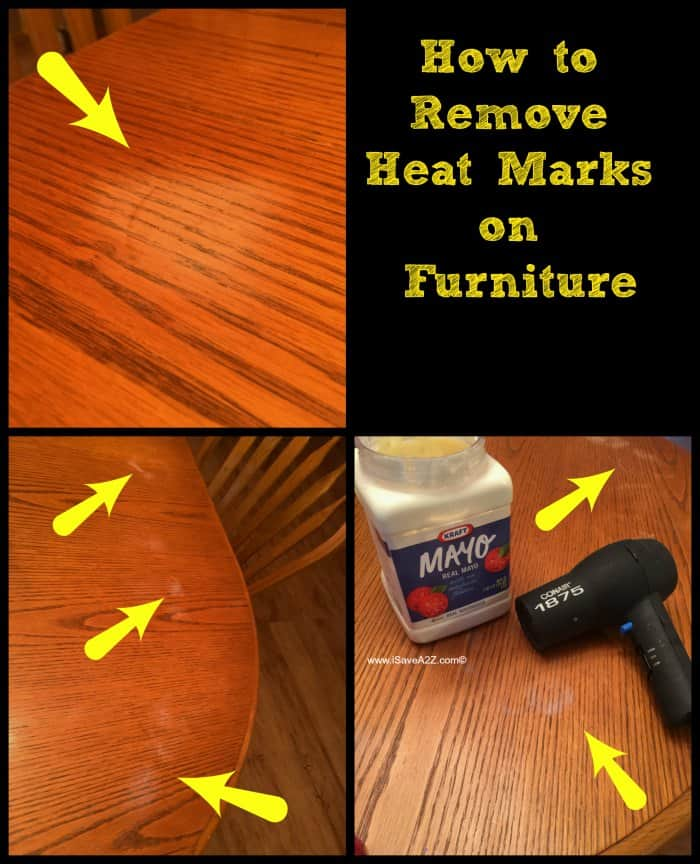 How To Remove Heat Marks From Furniture Isavea2z Com - How To Remove Hot Stains From Wooden Table