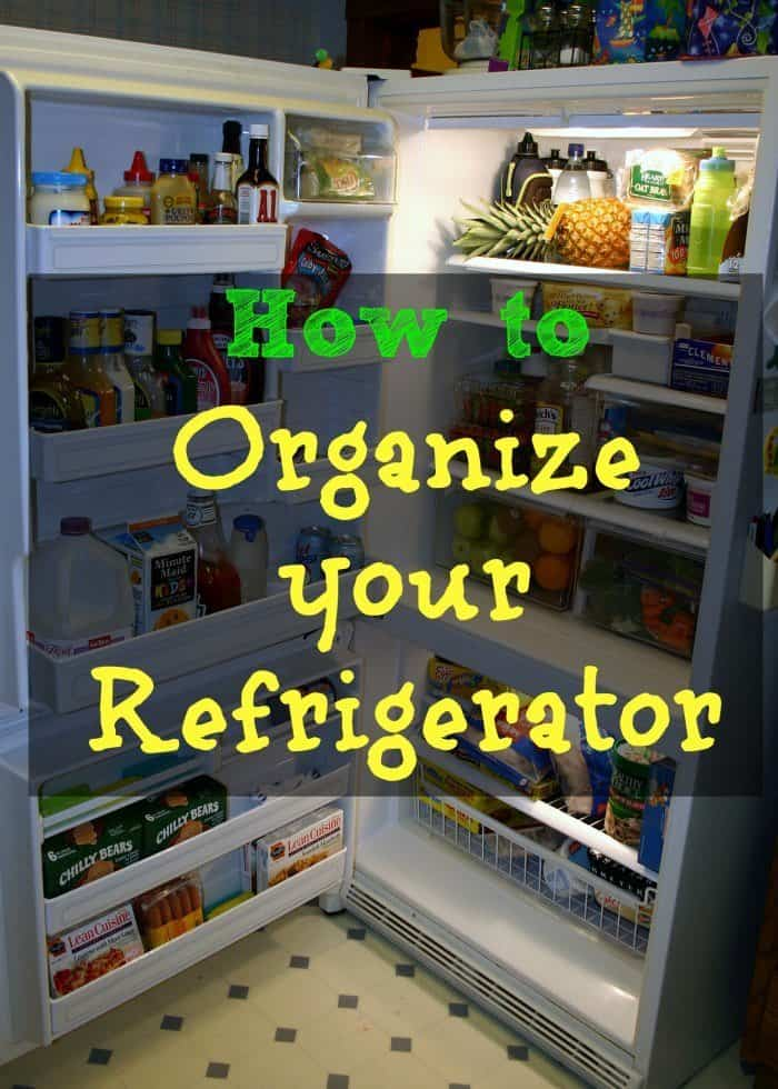 How To Organize Your Refrigerator Isavea2z Com