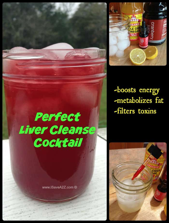 Liver Cleanse Cocktail recipe