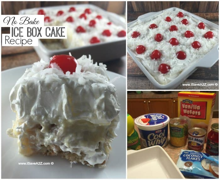 No Bake Ice Box Cake Recipe