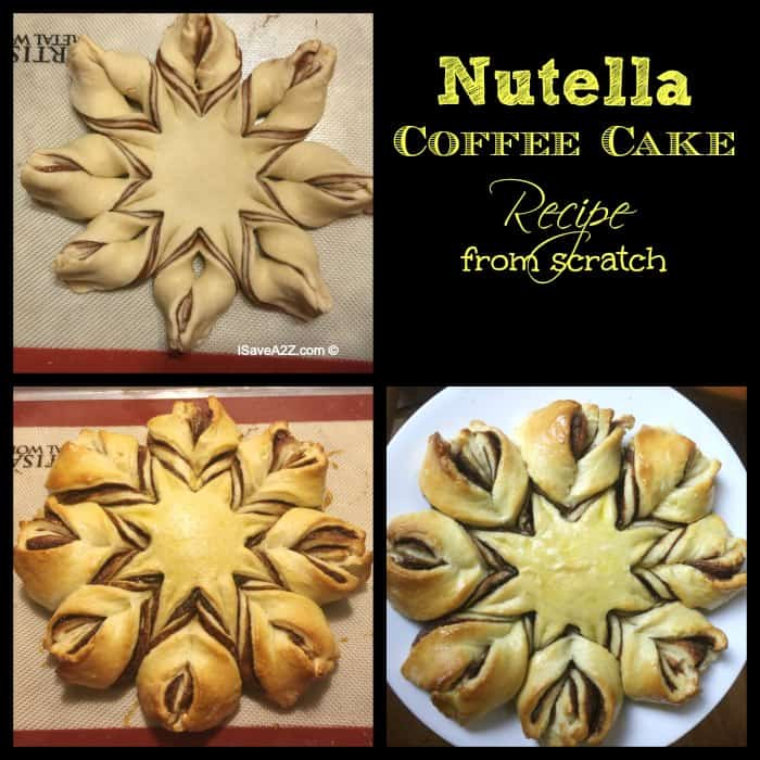 Nutella Coffee Cake Recipe from scratch