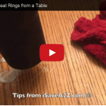 How to Remove Heat Marks from Furniture