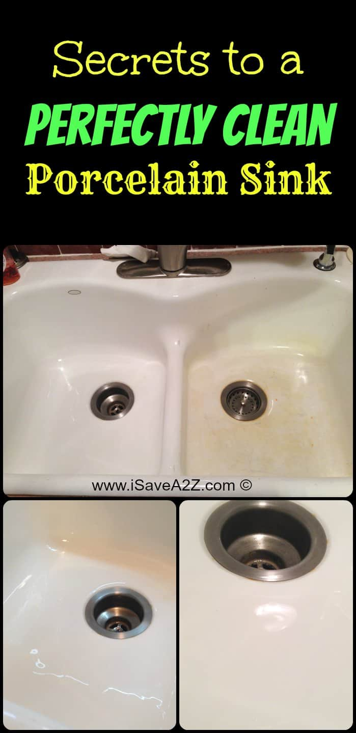 Bleach In Kitchen Sink