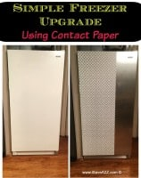 Contact Paper Craft Ideas Freezer Update
