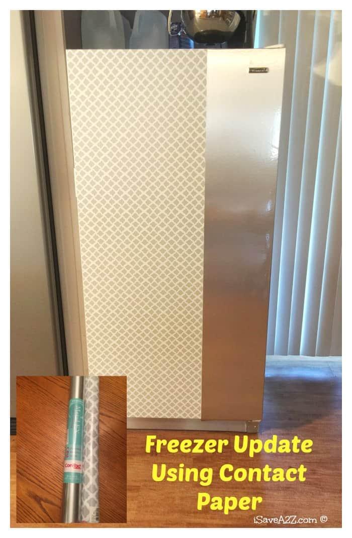 Contact Paper Craft Ideas Freezer Update