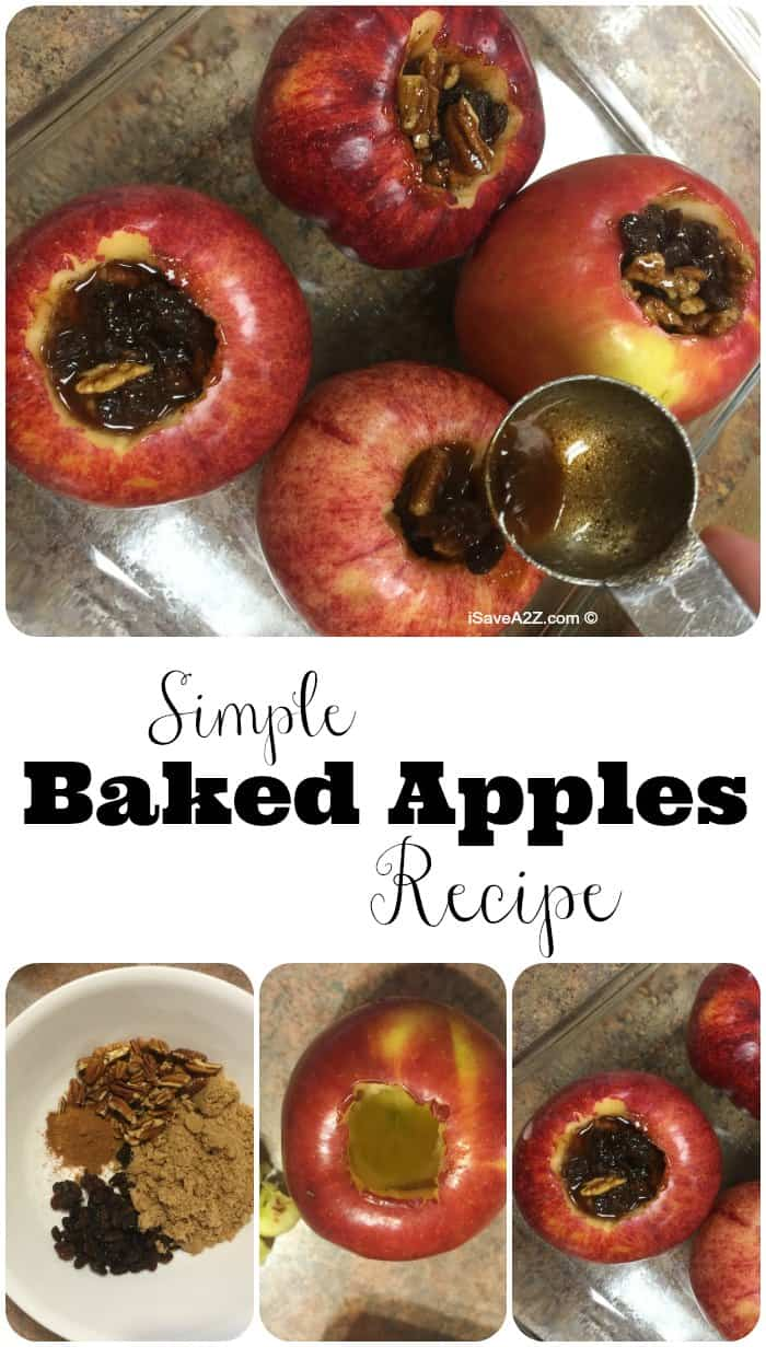 Healthy Baked Apples Recipe