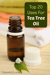 Top 20 Uses For Tea Tree Oil