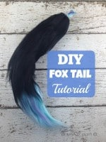 DIY Fox Tail Tutorial