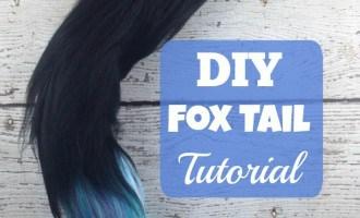 DIY Fox Tail Tutorial