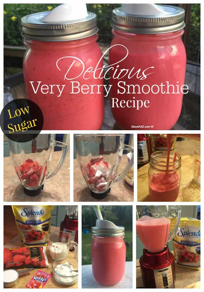 Delicious Very Berry Smoothie Recipe