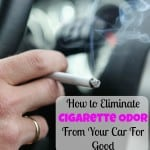 How to Eliminate Cigarette Odor From Your Car For Good