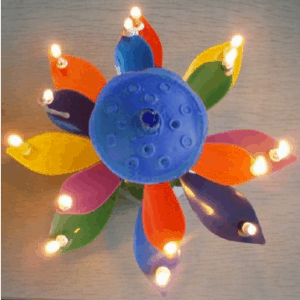 The Amazing Happy Birthday Candle that Blooms!