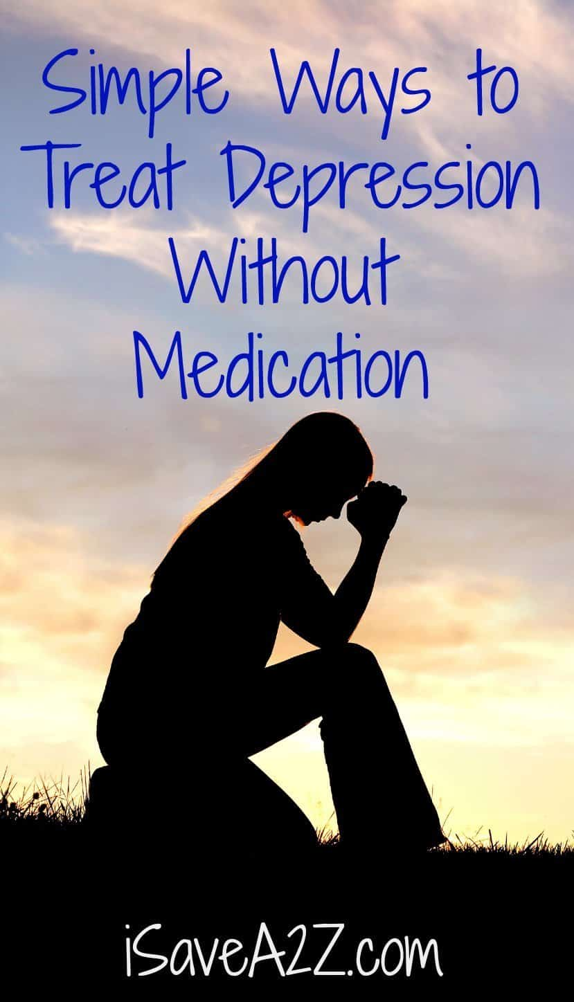 Simple Ways To Treat Depression Without Medication