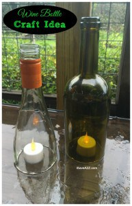 Wine Bottle Craft Projects