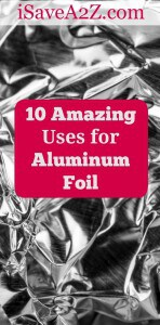 The uses for aluminum foil are endless and it is quickly becoming the new go-to item for handymen and women everywhere. Here are ten more great uses!