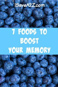 7 Foods To Boost Your Memory