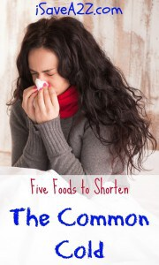 Five Foods to Shorten The Common Cold