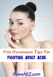 Five Uncommon Tips for Fighting Adult Acne